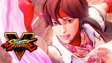 street fighter  arcade edition sakura gameplay reveal