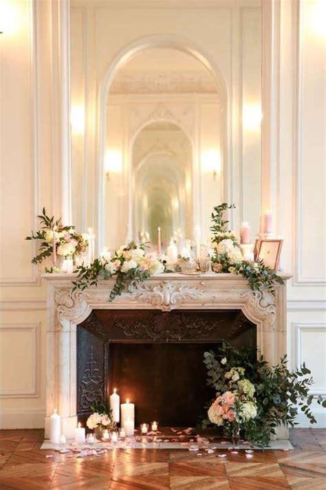 cheminee decoree cp lisa hoshi wedding decor en