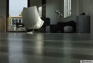 Sol Beton Ciré Prix : le sol en b ton cir ~ Premium-room.com Idées de Décoration