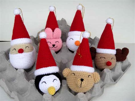 crochet christmas ornaments free patterns crochet for beginners
