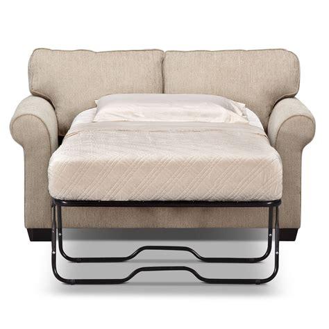 love seat sleeper sofas fletcher twin memory foam sleeper sofa value city furniture