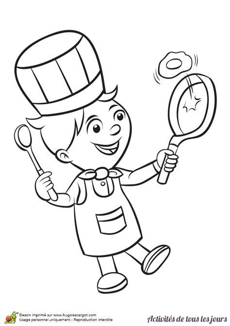 apprendre a cuisiner en ligne coloriage activités de tous les jours cuisiner