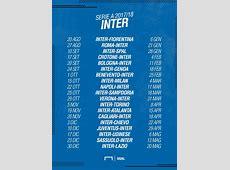 Calendario Inter Serie A 20172018 partite e date Goalcom