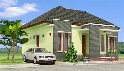 gambar rumah minimalis bentuk limas