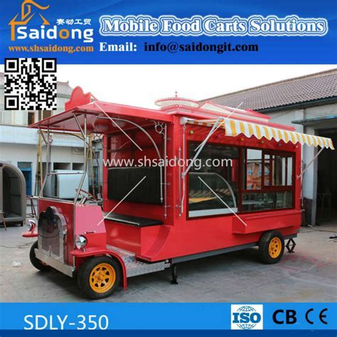 Most Popular Design Electric Mobile Ice Cream Cart buggy