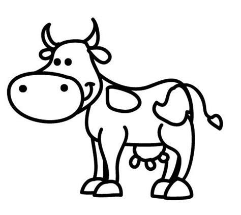 ausmalbild tiere kuh zum ausmalen kostenlos ausdrucken