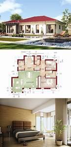 Die Besten Häuser : die besten 25 haus bungalow ideen auf pinterest h user ~ Lizthompson.info Haus und Dekorationen