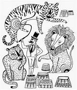 Coloring Circus Carnival Sarah Sheets Walsh Owl Doodle Magic Signed Copy Games Kleurplaten Visit Drawing sketch template