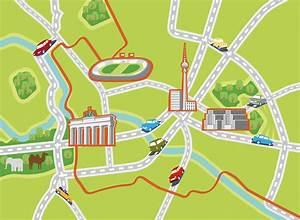 Plan B München : stadtplan berlin reinhard blumenschein illustration m nchen ~ Buech-reservation.com Haus und Dekorationen