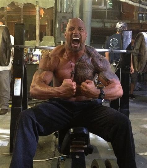weight exercises training dwayne muscle fitness rock bodybuilding building
