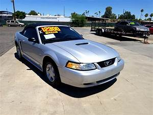 Used 2000 Ford Mustang Convertible for Sale in Phoenix AZ 85301 New Deal Pre-Owned Autos