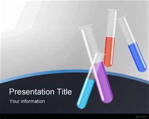 scientific powerpoint template  science