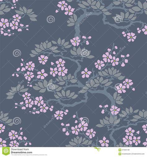 papier peint sans couture de fleur de prune japonaise