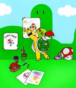 Bowser Jr's playroom by Meb90 on DeviantArt