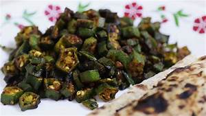 Bhindi Fry Recipe | HungryForever Food Blog