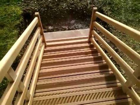 escalier sapelli exterieur mp4