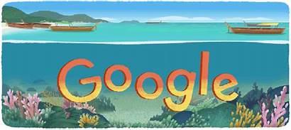 Google Animated Doodle Doodles Islands Park National