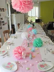 Décoration De Table Anniversaire : k zako d co d co de table printani re ~ Melissatoandfro.com Idées de Décoration