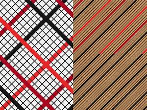 geometric fabric patterns vector graphics