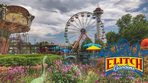 elitch gardens theme park the roller coasters of elitch gardens