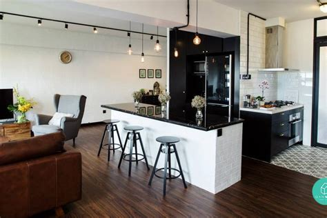3 Openconcept Kitchen Ideas For Small Homes  Qanvast