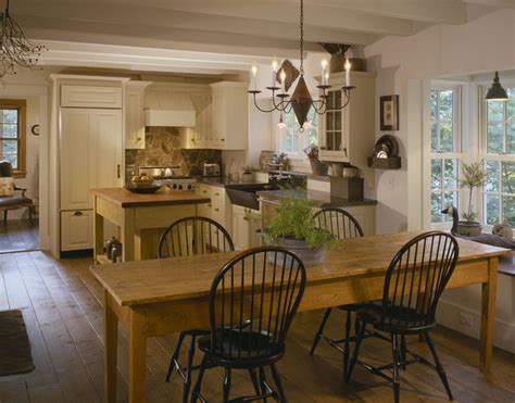 English Country Timber Frame-traditional-kitchen