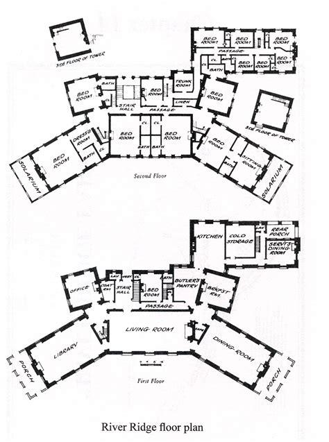 mansion floorplans river ridge a quick history