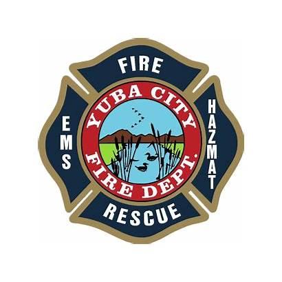 Fire Yuba Department Early Logos Police Team