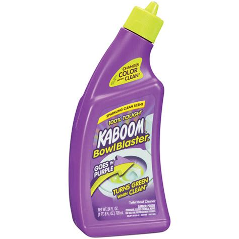 Kaboom Bathroom Cleaner With by Kaboom Bowlblaster Liquid Toilet Bowl Cleaner 24oz