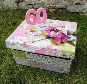 60ans de mariage une urne d 39 anniversaire 60 ans femme deco