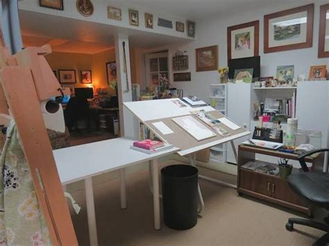 Craft Room Home Studio Setup by 44 Stunning Studios That Will Inspire You To Get Back