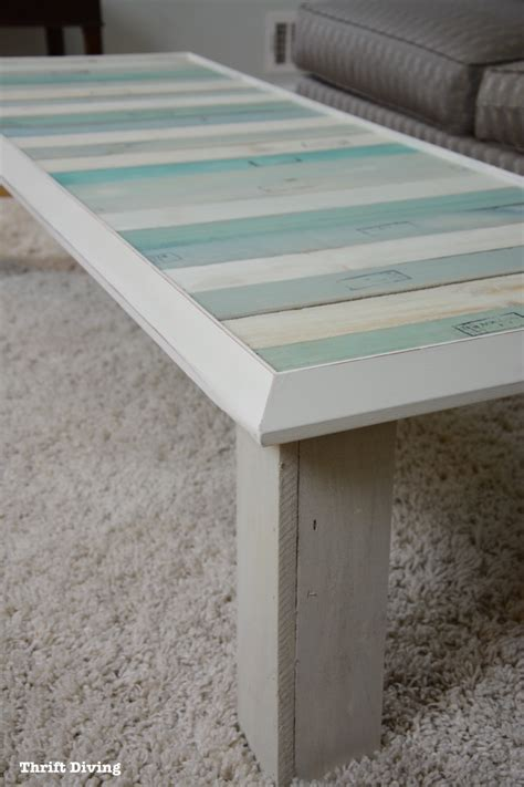 Upcycle a Picture Frame and Pallets Into a DIY Coffee Table