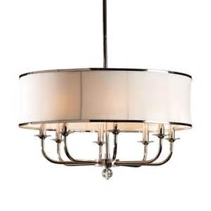 zoe eight light nickel chandelier i ethan allen