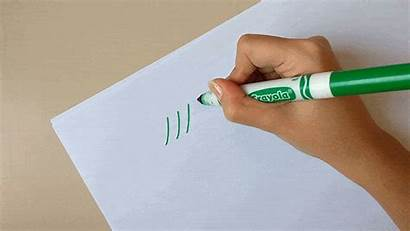 Markers Calligraphy Crayola Create Thick Hand Downstroke