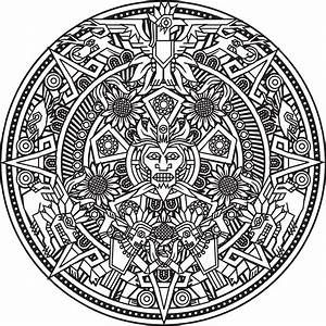 Free Printable Adult Colouring Page. Mandala/Zen Design ...