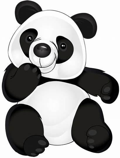 Panda Transparent Clip Clipart Cartoon Cartoons Yopriceville