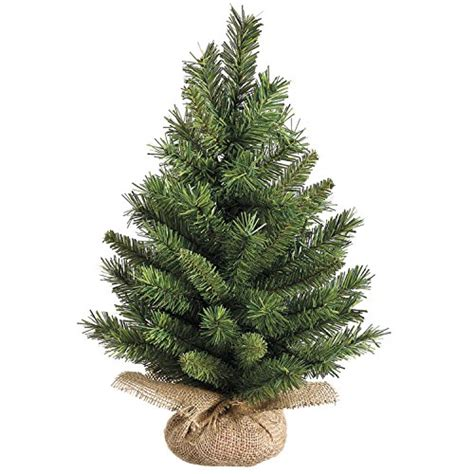 18 inch high x 12 inch wide tabletop christmas pine tree