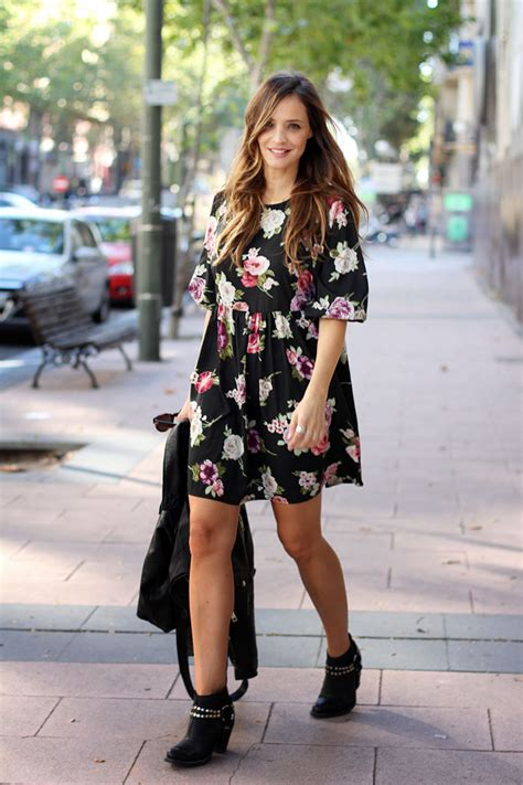 Winter floral dress looks - Lady Addict