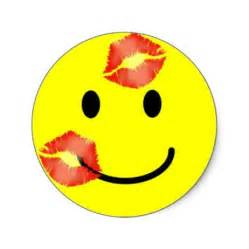 Kiss Smiley Face Clip Art