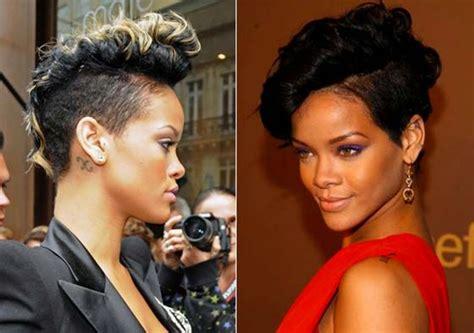 Best 25+ Rihanna Short Haircut Ideas On Pinterest