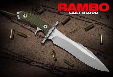 rb poignard rambo  blood heartstopper knife