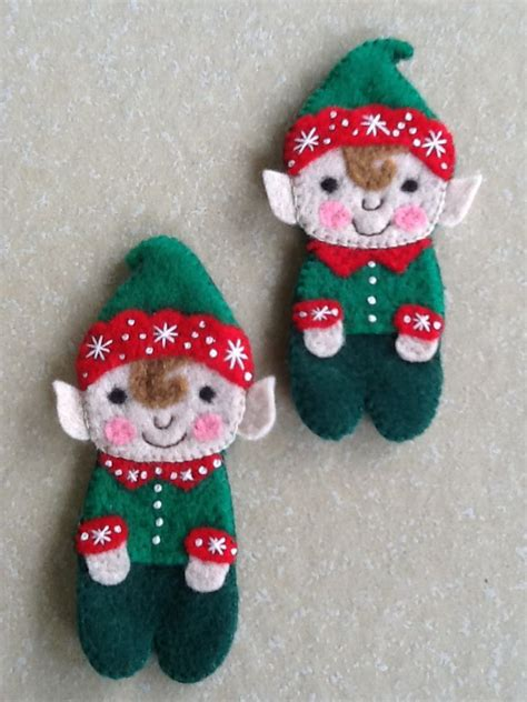 vintage frosted gingerbread embroidered felt cookie christmas ornaments 1000 images about felt ornaments on pinterest