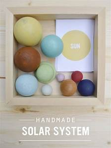 Handmade Solar System + Printables... | Kiddo | Pinterest
