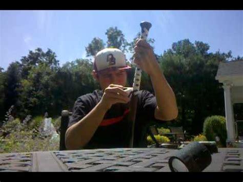 baseball bat tape job tutorial youtube