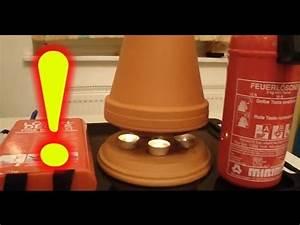 Heizung Lüfter Selber Bauen : teelichtofen feuer 10 wichtige sicherheitshinweise im umgang mit der kerzen heizung youtube ~ Eleganceandgraceweddings.com Haus und Dekorationen
