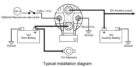 Boat Battery Isolator Wiring by Boat Battery Isolator Switch Wiring Diagram Wiring