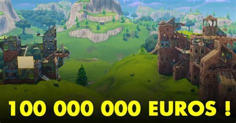 Fortnite : Epic Games prévoit 100 millions d'euros de ...
