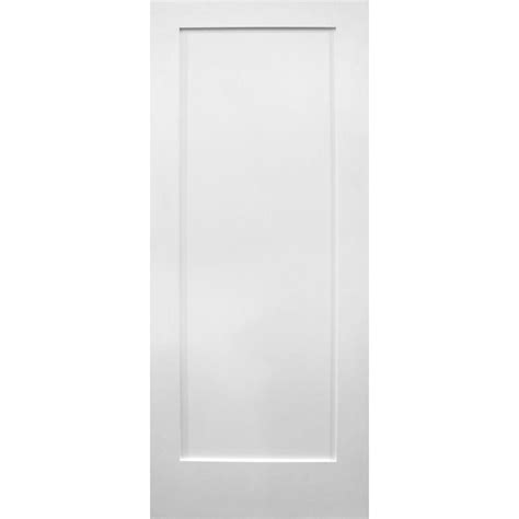 builder 39 s choice 36 in x 80 in 1 panel ovolo primed wood