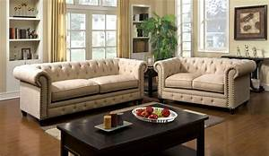 Stanford ivory sofa collection cm6269iv for American home life furniture