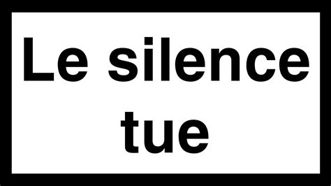le silence tue culpouhiou 23